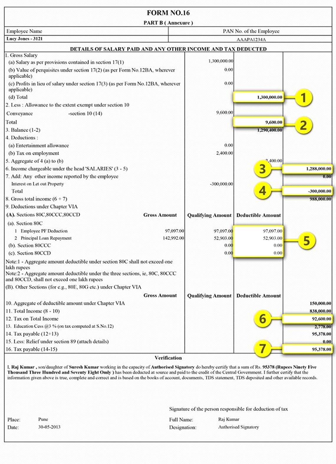 form 16 part B